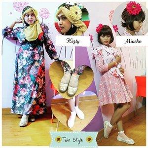 July 24th, 2015 -----🐼🍥🐼#FoodTravelerMinekoHezty ( Indonesian Stylish Food Traveler ) at #cafebingbing @cafe_bingbing 🎀🌸💖 #heztyharajuku 's #OOTD #hotd #fashion #style with #headscarf #clozetteid 💖🌸🎀 PS : our #twinstyle theme of the day is #sweet #kawaii #girlie #vintagefashion . Inspired by #dollykei #TokyoFashion 😉 🐼🍨🐼 #instafood #foodtraveler #vlogger #stylishtraveler #foodhunter #Depok  #Indonesia #modestfashion #coveredstyle #scarf #hijabstyle #shabbychic #modesty #stylish