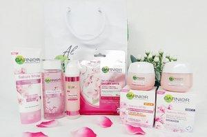 Garnier Sakura White Jadikan Kulit Tampak Cerah Merona dan Glowing