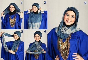 HIJAB FOR HEART-SHAPED FACE