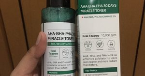Beauty Review : Some by mi AHA, BHA dan PHA 30 Days Miracle Toner