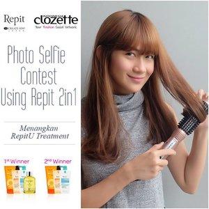Grammers!! Ikutan yuk kontes foto selfie menggunakan Repit 2 in 1 dan menangkan 2 hadiah menarik dari Repit, yaitu:Juara 1: 1 set RepitU Treatment+serum senilai 1,3jtjuara 2: 1 set RepitU Treatment senilai 1jtJangan lupa tag ke @clozetteid dan @repitindo, juga menggunakan hastag #repitindo, #clozetteid, #ClozetteXRepitindo yaa! 🙆