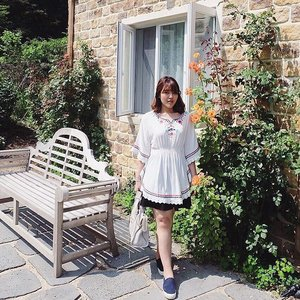 Lets travel the world in Poncho ☝🏻️...#ameinseoul. #ootd #wiwt #ClozetteID #visitkorea #gapyeong #gardenofmorningcalm #seoulbound #fujifilmxa2 #fujixa2