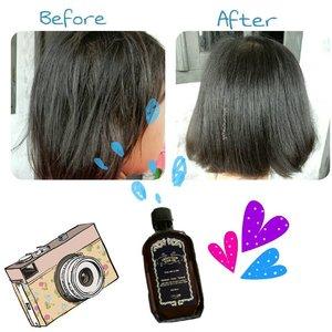💆Akhirnya udah dicobain juga si Argan Glow Hair Oil ini. Rasanya, foto ini udah nunjukin apa yang mau kita lihat deh yaa..iya gak? Selain itub, ada juga 2 hasil lainnya, yang berbeda dan mungkin yang selama ini kamu cari? Penasyaraan? Hehe. 👉👉👉Yuk, lihat yang terbaru di blog aku ajah, cuss klik Link on Bio 😘 #real #photo #nofilter #noedit  About foto postingannya, Niatnya buat taro di IG, mau ngedit unyu2 a la retro, jadinya malah kartun kayak bocah gini. Hahaha. . . ****btw, ini dicobain ke keponakan aku yaah**** . . #beforeandafter #review #hair #haircare #treatment #love #lovely#happy #clozetteid #bloggerbabe #blogger #bloggermon #lifestyleblogger #hijab #hijabgirl #kids #beauty  gaharunisaa.wordpress.com https://gaharunisaa.wordpress.com/2016/08/27/review-argan-glow-hair-oil-by-cfc-lab/