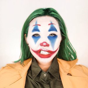 JOKER makeup inspired by @inivindy and the @jokermovie itself. #makeupbarenginivindy ...why be joker when your life's a joke?...............  #ootd #work #party #casual #outfitoftheday #giveaway #indonesia #beatricenathania #makeup #indobeautygram #clozetteid @clozetteid @indobeautygram #tasyashoutoutfarasya @tasyafarasya #dwiendahpusparini @dwiendahpusparini #sbyglamsquad @sbyglamsquad @janineintansari @cindercella #janineintansari #cindercella #beauty #selfie #makeup #skincare #nails #hair #fragrance