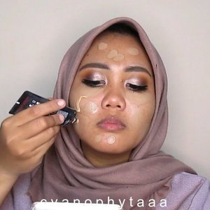 Makeup sendiri buat Prewedding? Siapa takut 😎...Products mention : 💜 @juviasplace Afrique Palette 💜 @sleekmakeup Oh So Special Eyeshadow Palette 💜 @maybelline Hyper Gloss Eyeliner 💜 @loreca.lashes  Cassandra 💜 @maybelline Total Tempation Mascara 💜 @ltpro_official Smooth Corrector Cream Foundation Chesnut 💜 @lorealindonesia Infallible Pro Matte Foundation 💜 @mybeautypediaid Catrice Prime and Fine Transformer Drop Darkening💜 @maybelline Age Rewind Concealer 💜 @makeoverid Powerstay Matte Powder Foundation 💜 @mizzucosmetics Alter Ego Contour Palette 💜 Miniso Blush 💜 Inga Semi-Matte Lipstick Sometimes ( beli di @hicharis_official @charis_celeb https://hicharis.net/cyanophytaa/FwC ) .....#CHARIS #inga #lipstick #CHARISSTORE #charisAPP  #clozette #clozetteid #makeup #makeupprewedding #tutorialmakeup #tampilcantik #ragamkecantikan #indobeautygram #beautybloggerid #beautyvloggerindonesia #makeuppesta
