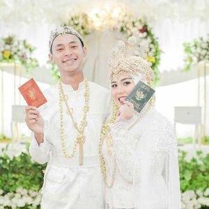 semoga yang resolusi tahun 2020 punya buku kaya gini terkabul ya. amin 🤗#clozetteid #wedding