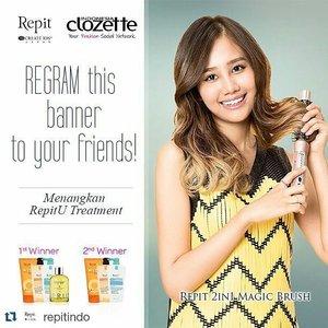 REPIT is premium hair styler from KOREA @RepitIndo @ClozetteID #ClozetteXRepitindo #ClozetteID #RepitIndo