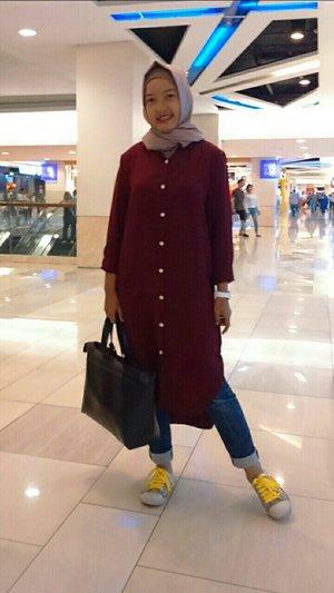 #ClozetteId #clozetter #ootdanty #myhijab #mystyle #hijaber #tuniclover #instalike #instame #instalook #instapicture #hotd