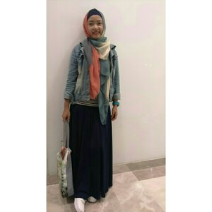 #ClozetteId #ootd#hootd #instame #instalike #myhijabstyle #casual #look #hijaber #myoutfit