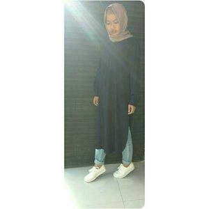 ❤❤❤ tunic   #ootdanty #ClozetteId #instame #instalike #look #style #fashion #casual #hijaber #hijabstyle #myoutfit #photooftheday #love #tunic #ootdindo