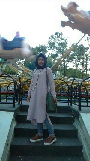 liburannya ke Dufan 😚  #ClozetteId #dufan #ootd #dailyhijab #hijaber #instame #instalook #instamoment #myoutfit #myhijabstyle