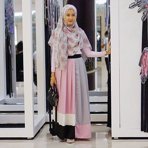 #ElhasbuStyle wearing skirt from @elhasbu my new collections #ClozetteId