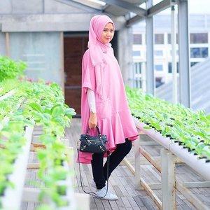 Everything looks better in pink 💕 #ElhasbuStyle wearing Keikira Tunic @elhasbu 💕 #ClozetteId