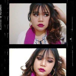 ini juga edisi dibuang shayaaang. kapan lagi pake gincu ungu (kecuali pas ke event) yekhaan. ini edisi #PrincessEsmeralda of Disney sedang pusing💆~ · · #disneyprincess #disneyprincessmakeupesmeralda #princessesmeralda #makeup #beauty #makeupaddict #makeupjunkie #motd  #makeuplover  #instamakeup #wakeupandmakeup  #clozette #clozetteid  #tasyamakeuppreference #ragamkecantikan #beautychannelid #beautychannel #bloggerceria