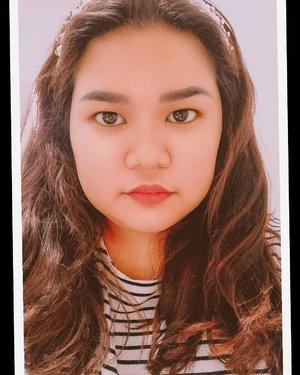 Chubby cheeks and stripes #clozetteid #selfie #selfieday #latepost #latergram #photooftheday #picoftheday #selfie_time
