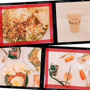 Porsi kelaparan ala tasya & @budiartiannisa alias porsi ber 4 yang makan ber 2 aja 🤣. Tapi nasgor nya @bakeabooindo sama kopinya emang juara sih. Murah dan bikin kenyaang 😍  #latepost #foodie #foodstagram #foodgawker  #kulinerjakarta #foodporn #foodstagram  #foodgasm #mouthgasm #foodphotography #food52 #foodtruck #foodpic #jktgo #manualjkt #jakartafoodbang #jktfoodbang  #jktfood  #tasyaeats #zomato #zomatoid #TasyaForZomato #Clozetteid