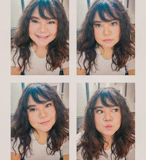 Edisi #GRWM sebelum kerja. Makeup applied with #FanboBeautyBlenderNewShape ❤️ #fanbocosmetics #fanbocosmeticxbeautysocietyid #beautysocietycollabreview . Swipe for video 😁.#makeup #beauty #makeupaddict #makeupjunkie #motd #makeuplover  #instamakeup #wakeupandmakeup #clozetteid  #tasyamakeuppreference #beautysocietycollabreview