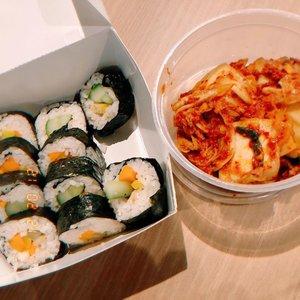 Another #latepost tapi sungguh ini salah satu kimchi dan kimbab terenak yang pernah kucobaa #tasyaeats #clozetteid #latepost