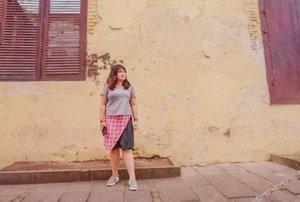 #ootdindo #outfitoftheday #lookoftheday #fashion #fashiongram  #clothes #wiw  #instafashion #outfitpost #ootdfashion  #ootd #todaysoutfit #fashiondiaries #clozetteid #travelling #traveller #travelblogger #staycation #cityexplore
