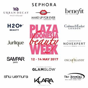HAI ! 🙋🙋 Jangan lupa untuk datang ke Plaza Indonesia Beauty week @plaza_indonesia karna disana akan ada banyak kegiatan dan pastinya penawaran menarik dari @sephoraidn 😍 Di Multifunction Hall Level 2, Plaza Indonesia. Jangan sampai ketinggalan !  #Sephoraidn #PlazaIndonesia #plazaindonesiabeautyweek #plazaindo #sephorabeautyinfluencer #benefitcosmetics #urbandecay #shueumura #klaracosmetics #SephodaidnXPlazaindonesia #pibeautyweek #clozetteid
