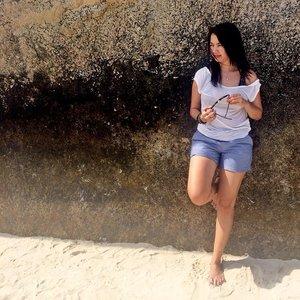My Saturday Morning #pulaubatuberlayar #bangkabelitung #tripbabel #ootd #clozetteid #clozette