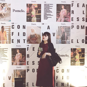 In @pomelofashion summer 18 launching event 💋 #clozetteid #IAmPomelo #FindYourStyle @clozetteid