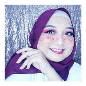 Flower Freckless 🌺🌺🌺Ib @charlottaeve (change color)#makeupindo #flowermakeup #flowerlook #makeupinspiration #jbbfeatured #jakartabeautyblogger #cantikankamubeb #RumahCantikKita #clozetteid