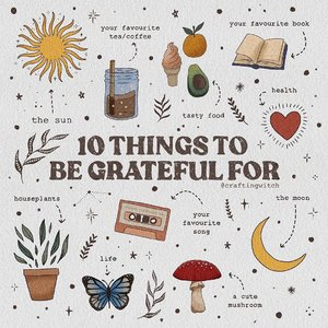 Well, these can be my '10 Things To Be Grateful For'. Literally!So, what are you #grateful for today? 😊🖼 : @craftingwitch ••#clozetteid #quotes #selfreminder