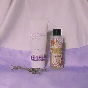 #LocalPride but feels like #Parisian  Yess, akhirnya kupas tuntas 2 produk @votre_peau muncul juga di kikicasmita.com #kikicasmitaBlog 💜 (Link ada di-Bio)  Tentang Duo #MaskneSavior  1) Votre Peau Herbal Lavender Facial Cleanser 2) Votre Peau Herbal Calendula Hydrating Face Toner  I'll see you there 🥳🥳 • • • #clozetteid #VotrePeau #dermatologistFormulated #skincare #acne #acnefighter