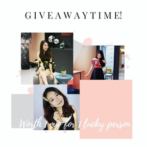 #giveaway time! ❤️Kali ini giveaway nya simple, cuss ikutan.. Detail ada di slide 2 ya..Goodluck! 🤗❤️-#giveawayid#giveawayindo