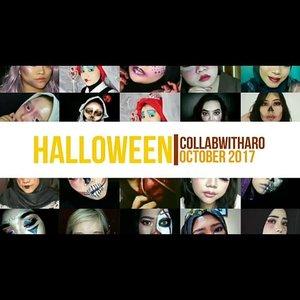 Captionnya copas dari ig @aro_kopa Udah dong uda izin :) . . . October Face #CollabWithAro 👻 We're back! October CollabWithAro: Glam VS Gloomy! Thank you for your participations. Here are the awesome creators involved (in order of appearance): @khoirunnisak28 - @arifanuryani - @amandasmess - @aro_kopa - @gotchadiary - @dya_henna - @inabunaa - @azwar_sfx - @iykaliyka - @hanjizah - @lelrahmaa - eka.kuncoro - @emput_puuuttt - @mayfiin1991 - @villyanarenata - @phutsmakeup - Angelina Jolie disguised as Billy The Puppet from Jigsaw Movie - @sandrianna93 - @kimnarina - @syalala.syahla - @putribuchika - @uswhaaa - @qaa_rika - @veraalusiii - @linklinkmblink - @viiey_septiyan90 - @widiakusumadewi 💞 See you on the next CWA! . . . . . . . . . . #BeautyGuru #BeautyVlogger #ClozetteID #Beautiesquad #bvloggerid #beautynesiamember #muajakarta #indobeautygram #indovidgram #indobeautyvlogger #bunnyneedsmakeup #ivgbeauty #sfx #sfxmakeup #halloween #halloweenmakeup #skull #skullmakeup #jigsaw #jigsawmovie #jigsawmakeup #billythepuppet #saw #wannaplayagame #halloween2017