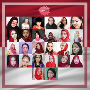 Happy Independence Day!! Can you spot me among these other members of @beautiesquad??? Tap aja kalo mau tau siapa2 aja sih mereka hihi.. And of course don't forget to check out my blog bit.ly/BSMerdeka-Jude Yak gabisa ngetag lebih dari 20 orang guys.. Jadi barisan paling atas aku mention disini aja ya dari kiri ke kanan itu ada: @nands.id @reginapitupulu @heyyyyyjudeeeee @blog.puarada @jennitanuwijaya @blossom.shine . . . . . #Beautiesquad #BeautiesquadAugustCollab #IndependenceDayMakeup #IndonesianIndependenceDay #bvloggerid #beautynesiamember #clozette #clozetteID #clozetter #beauty #makeup #beautyblogger #beautybloggerindonesia #indobeautyblogger  #bloggerindonesia  #muajakarta #indobeautygram #internationalbeautygram  #instabeauty #beautyinfluencer #partymakeup #merdeka #kemerdekaan #hutri72 #dirgahayuindonesia #agustusan #happyindependenceday #sayaindonesia