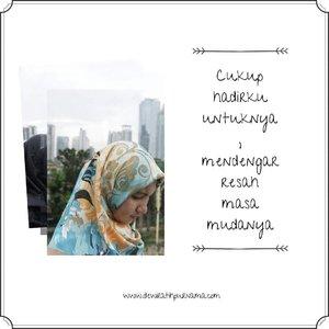 """ Adikku Kecilku yang Dulu ""- repost from blog 🌐...~Somewhere in Jakarta 🏙#hijab#jakarta#clozetteid#ootdhijabmuslim#photograph"