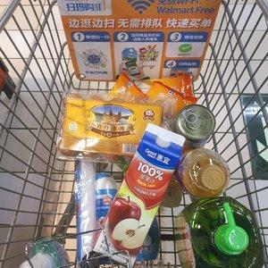 Groceries @ wal mart 🛒🥫🥚 @walmart @googlelocalguides#groceries#walmart#letsguide#clozetteid#walmartbeijing