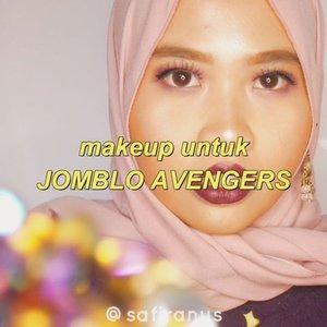 IZ*One Kwon Eunbi: Purple #IZxSafira 🍆Kenapa avengers? Karena asalnya mau Jomblo Badas* tapi kayanya ko kasar banget wkwk 😂 Nyari nama makeup biar sesuai sama lagunya, dan warna ungu juga bukannya identik dengan kesendirian kalo di Indonesia? Ahaha 👀Aku definitely nggak akan keluar rumah dengan eyeshadow ungu ngejreng. Series Izone ini hanya untuk senang senang okkk🙌🙌 And btw hari ini aku nyobain settingan kamera baru, jadi aku masih menyesuaikan~..#izone #eunbi #kwoneunbi #purple #clozetteid #makeuptutorials #purpleshadows #eyeshadow #boldmakeup #nightmakeup #prommakeup #westernmakeup #catricecosmetics #Makeoverid #beautycreations #elsabeautycreations #purplemakeup #beautytutorials #tampilcantik #sigmabeauty #sigmabeautybrushes