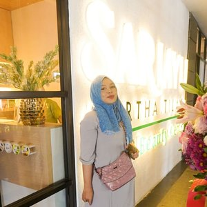 Congratulations @sariayu_mt & @martha_tilaar for Grand Opening of SariAyu Halal Beauty Center Cempaka Putih 🌾 �Plaza WarlyJl. A. Yani No.677, RT.8/RW.3, East Cempaka Putih, Cempaka Putih, Central Jakarta City, Jakarta 10510 🧕💃Women Only Let's feel the great atmosphere of this gorgeous place, staff & treatment (hair, body, manicure & pedicure)#autocantik #love #clozetteid #hijabstyle #halal #lfl #likeforlikes #beautyreview #party #ootd