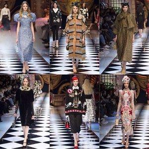Quirky feminine look by Dolce Gabbana 😍 #fall2016 #dolcegabbana #clozetteID