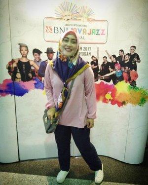 Happy me ☺💃💪 #clozetteid #ootd #javajazzfestival #javajazz2017 #jazzitup