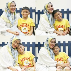 Si anak bujang pujaan hati 🤗  #clozetteid #andiyaniachmad #darelladhibrata #kidsofinstagram #motherhood #momandson #kesayanganbunda