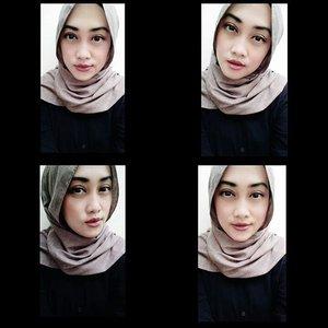 Hasil make up ala-ala... Punten kalo berantakan yaaa ✌🙈 #motd #makeupoftheday #selfie #nofilterneeded #takenbyoppo #oppor7lite #hijabstyle #andiyanipics #oppoindonesia #makeup #clozetteid