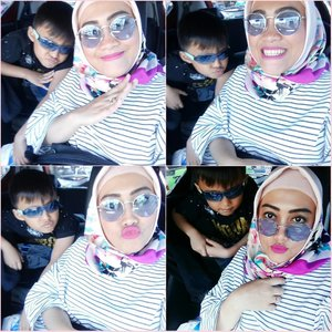 Our #sunday be like 🙄😎😁😙 #clozetteid #darelladhibrata #kidsjamannow #kidsofinstagram #stylediary #andiyaniachmad #socialmediamom #motherhoodthroughinstagram #motherandson #mommyblogger #sundayselfie