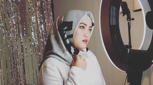 Oh gitu toh. 😁 Shawl by @ra_info 💕#ClozetteID #canonm10 #style #beauty #makeupoftheday #love #life
