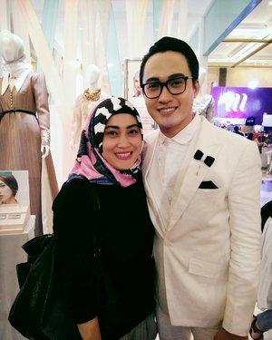 He is so humble and nice. ☺  #ifw2017 #wardahyouniverse #barliasmara #ClozetteID #fashiondesignerindonesia #lifestyleblogger