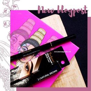 Nggak lagi pakai pensil alis yg diraut~ --- Paling enak emang pensil alis model matic, tinggal diputer. Dan nggak perlu bawa2 rautan kalau lagi travelling. Salah satu pensil alis matic yg udah aku coba adl @purbasarimakeupid . Sudah ada reviewnya di blog www.monicaagustami.com. 😘 --- #beauty #bloggerperempuan #clozetteid #makeup #makeupreview #purbasari #makeupindo #bloggerindonesia #jogjabloggirls