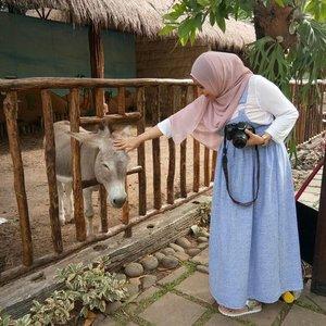 Sebelum di foto di elus dulu yaa😂😂😂 Manjaaaa dia ternyata.. #trowback #sisaliburan#clozetteID #happypregnant