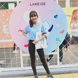 Minggu pagi ini ikutan campaign Laneige Refill Me 2019. Dengan berpartisipasi dalam kegiatan ini & membeli Laneige Refill Me Pack, kita telah memberikan donasi ke Aksi Cepat Tanggap Indonesia dan bantuan air bersih ke beberapa wilayah di Indonesia. Yuk peduli dengan air bersih dilingkungan kita! Karena banyak sekali yg membutuhkannya 💦✨ #RefillMe2019 #BetterWaterWithLANEIGE #ClozetteID  @laneigeid @clozetteid