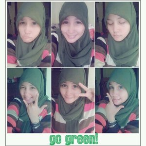 #ClozetteID #ColorfulHijab #goGreen