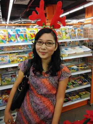 My casual christmas style. Halo Santa, minda to give me #AcerLiquidJade #ClozetteID :))
