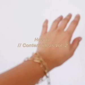 """How to // Create content Vol. 2 ___Simple thing to add """"aesthetic"""" in your photo.1. Your hands. Sway ittt2. Plants / Leaves3. Create haze with plastic / bubble wrap-#ClozetteID #howto#contentcreation #content101"""