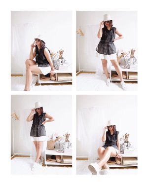 Playing dress up like we want to go somewhere. Still fun!  - #CellisWearing #ClozetteID